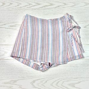 American Threads/Native Daughters Striped Skort S